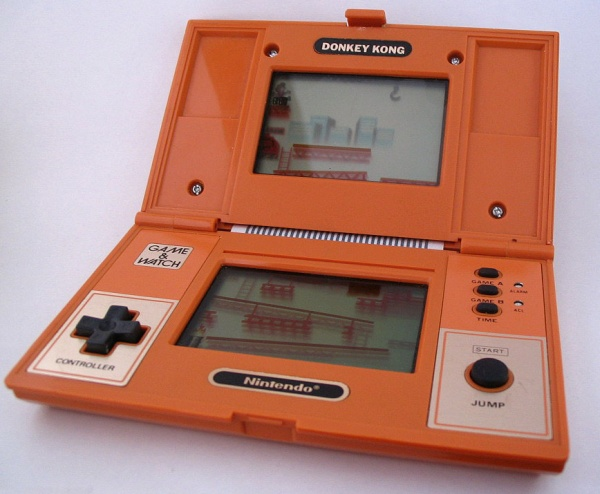 Game & Watch Double Screen Donkey Kong