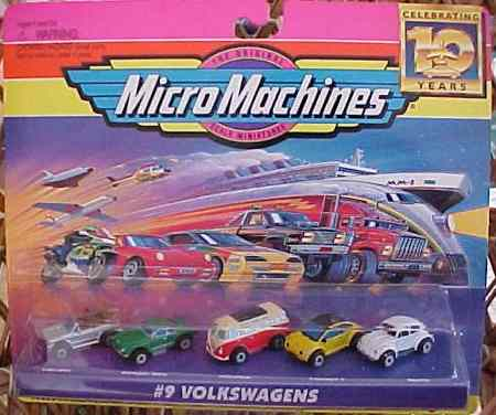 Packaging original des Micro Machines
