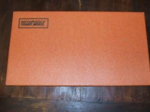 boite de monopoly vintage façon cuir